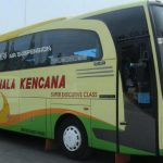 Bus Pahala Kencana Super Executive class seat 1-2